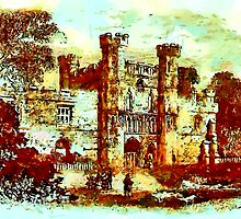 The Gatehouse, Battle Abbey, Hastings by Dennis Melling