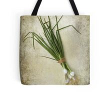 Spring Onions Tote Bag