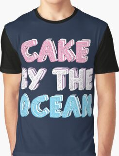 Cake by the Ocean Dark Graphic T-Shirt