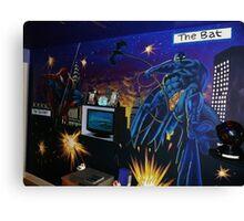 super-hero wall mural Canvas Print