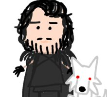 Don't call me Lord Snow Sticker