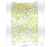 USGS Topo Map Washington State WA Ariel 239848 1971 24000 Poster