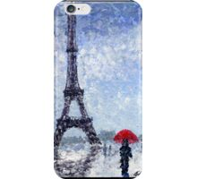 Rainy Day In Paris iPhone Case/Skin