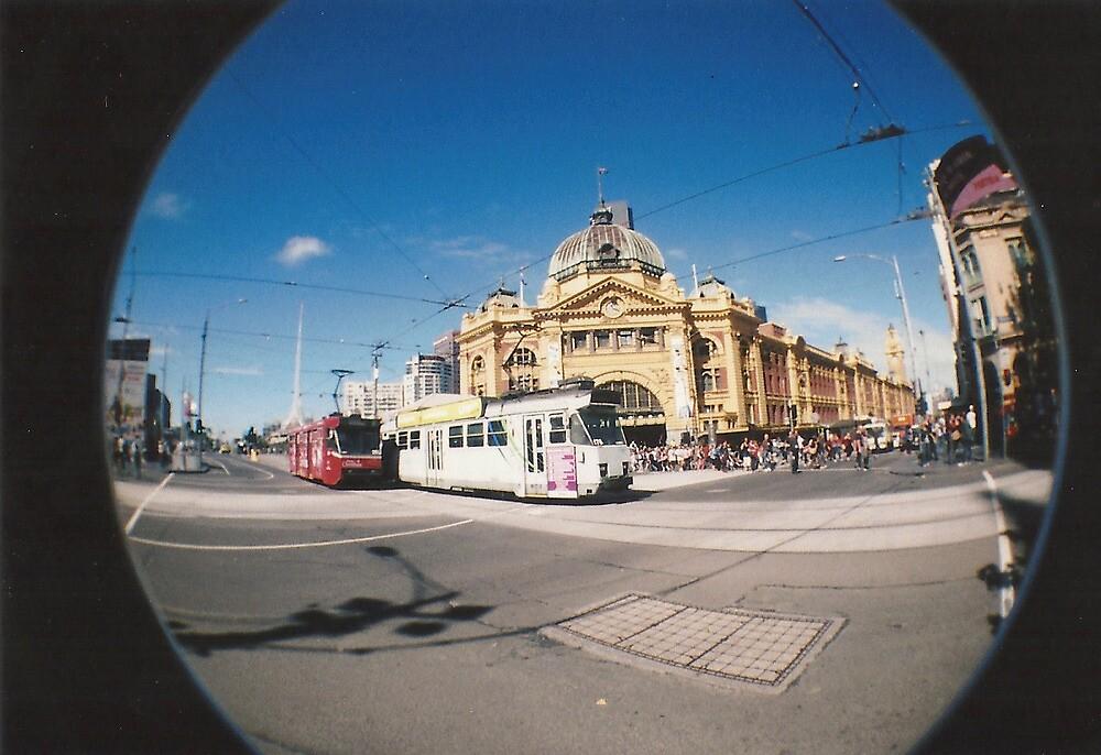 Flinders Street. by ellenor