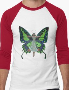 Art Nouveau Vintage Flapper With Butterfly Wings T-Shirt