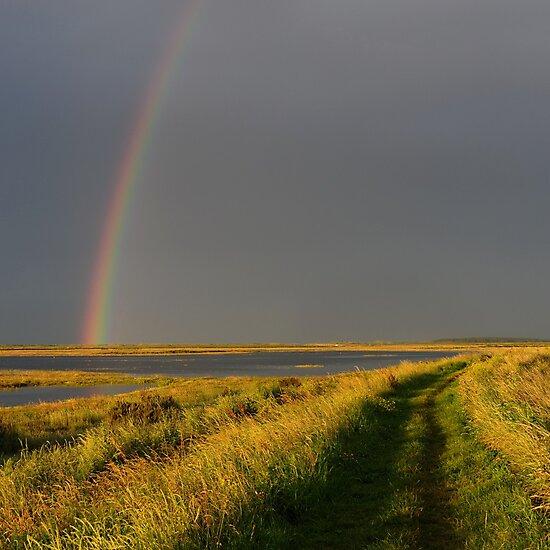 Rainbow over Peddlar's Way, Burnham, Norfolk by James1980