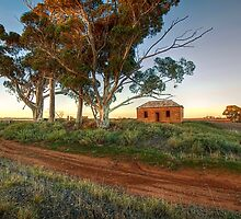 Farmhouse Ruins II - Palmer Road, Murray Bridge by Mark Richards