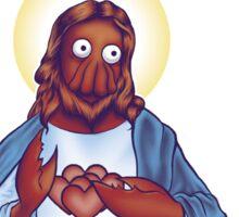 Zoidberg Jesus Sticker