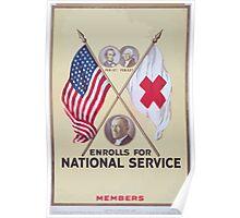 blank enrolls for national service Members 002 Poster