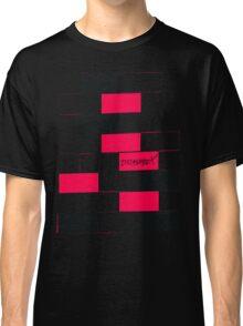 DramatiX Pink & Black Checkerboard Classic T-Shirt