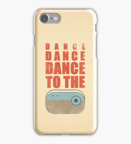 Dance To The Radio iPhone Case/Skin