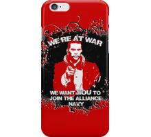 Uncle shepard wants you iPhone Case/Skin