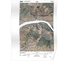 USGS Topo Map Washington State WA Ping 20110406 TM Poster