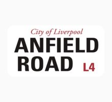 Anfield Road Liverpool Sign		 by StreetsofLondon