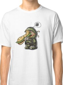 Master Chief VS. Sandwich Classic T-Shirt