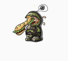 Master Chief VS. Sandwich Unisex T-Shirt