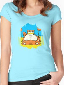Snorax Women's Fitted Scoop T-Shirt