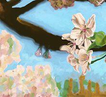 Cherry Blossoms by Sammy Hendrick
