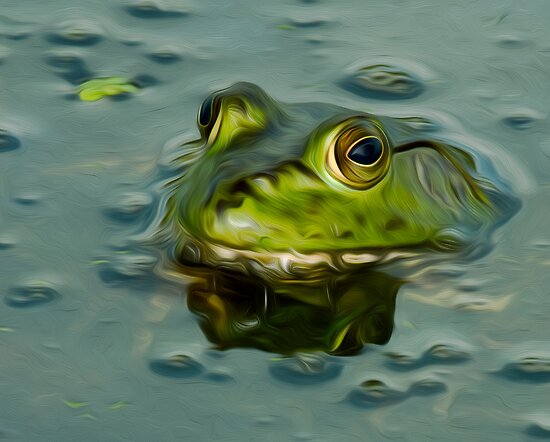 Bullfrog Oil by Paul Wolf