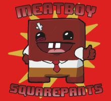 Meatboy Squarepants One Piece - Short Sleeve