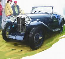 1933 MG J2 by RGMcMahon