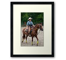 """""""Northern Ohio Outlaws"""" #9 Framed Print"""