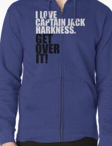 I love Captain Jack Harkness. Get over it! T-Shirt