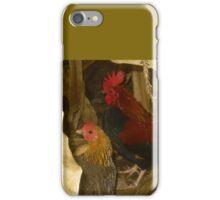 Roosters in a Corn Field iPhone Case/Skin