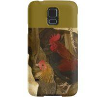 Roosters in a Corn Field Samsung Galaxy Case/Skin