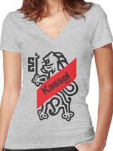 Kassel Beer Women's Fitted V-Neck T-Shirt