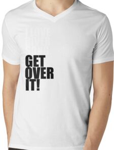 I love River Song. Get over it! Mens V-Neck T-Shirt