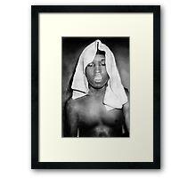 ASAP+Rocky Framed Print