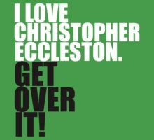 I love Christopher Eccleston. Get over it! One Piece - Short Sleeve