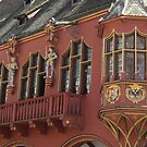 Historical red building by bubblehex08