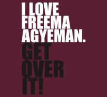 I love Freema Agyeman. Get over it! by gloriouspurpose