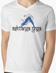 Ashtanga Yoga T-Shirt Mens V-Neck T-Shirt