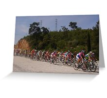 Presidential Cycling Tour of Turkey 11-18 APRIL 2010 Greeting Card