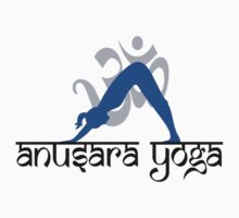 Anusara Yoga T-Shirt One Piece - Short Sleeve