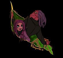Thrax and Scarlette Cutting In by R2ninjaturtle