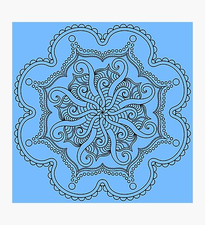 Tentacle Mandala Photographic Print