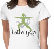 Hatha Yoga T-Shirt Womens Fitted T-Shirt