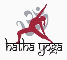 Hatha Yoga T-Shirt Kids Clothes