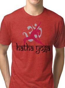Hatha Yoga T-Shirt Tri-blend T-Shirt