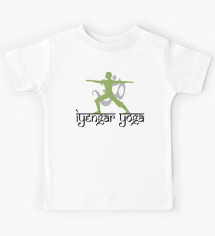 Iyengar Yoga T-Shirt Kids Tee