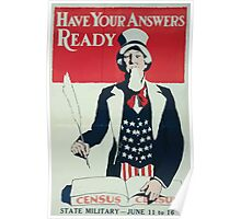 Have your answers ready State military June 11 to 16 002 Poster