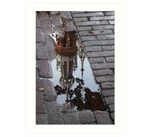 Fallen into the Puddle Art Print