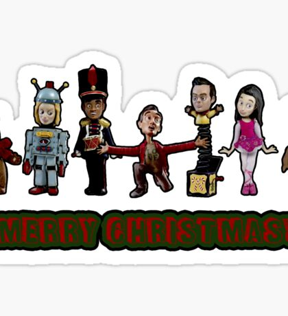 Stop Motion Christmas - Style A Sticker