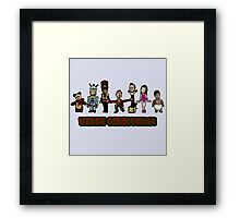 Stop Motion Christmas - Style A Framed Print