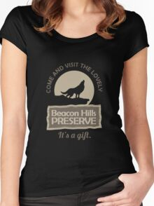 Beacon Hills Preserve Women's Fitted Scoop T-Shirt
