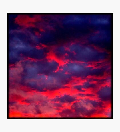 Calypso Sunset (available in iphone & ipod cases) Photographic Print